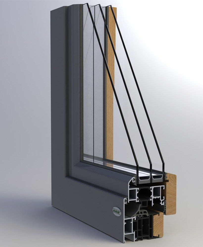 Infissi alluminio – legno